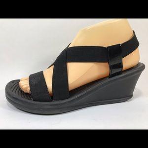 Skechers Slingback Wedge Sandals Women's 8
